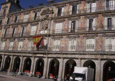 9 Feb Madrid Plaza Mayor